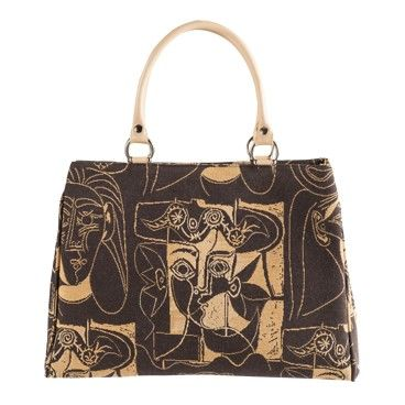 Sac Monica Picasso Femmes aux chapeaux #art #tapestry #MadeInFrance