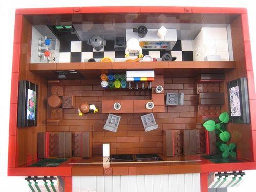 Chili's Restaurant - Cafe Corner modular building: A LEGO ...