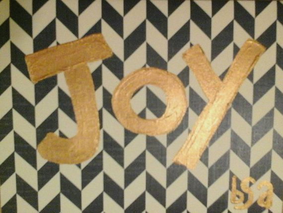 Check out this item in my Etsy shop https://www.etsy.com/listing/211706581/joy-card-and-envelope