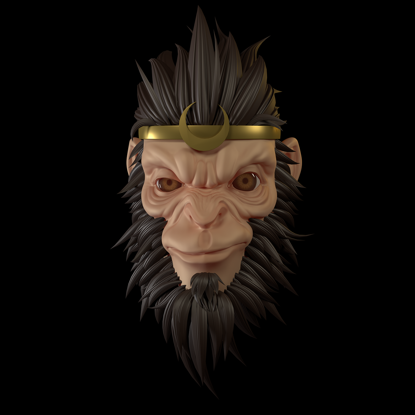 Sun wukong on Behance