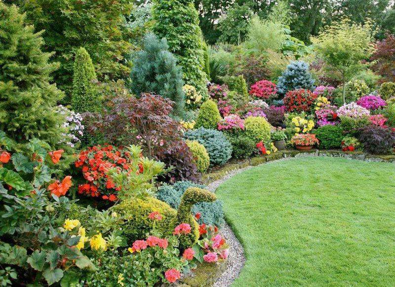 Flower Garden Ideas Full Sun