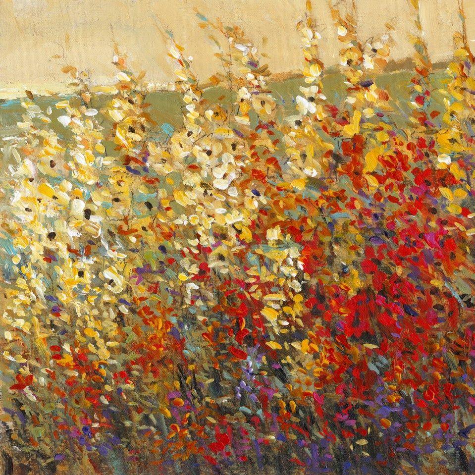 Aquamarine Floral Wall Art, Canvas Prints, Framed Prints, Wall Peels ...