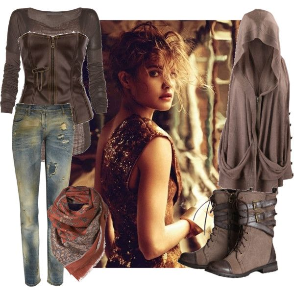 """""""Post-Apocalyptic Princess"""" by silverthread on Polyvore"""