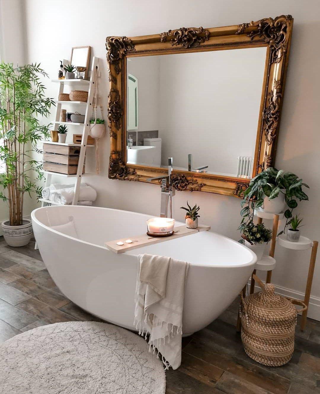 Die Grosse Kunst Das Haus Mit Spiegeln Zu Zeigen Dekorationstipps Trends 2020 Goruntuler Ile Rustik Banyolar Banyo Ic Dekorasyonu Ev Dekoru Aksesuarlari