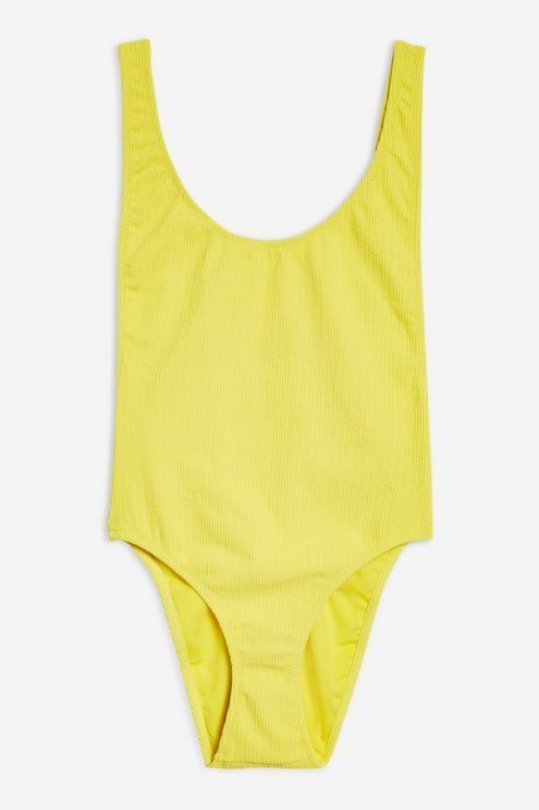 743b5c371b7e3 Scoop Neck Crinkle Swimsuit in 2019 | Products | Swimsuits, Swimwear ...