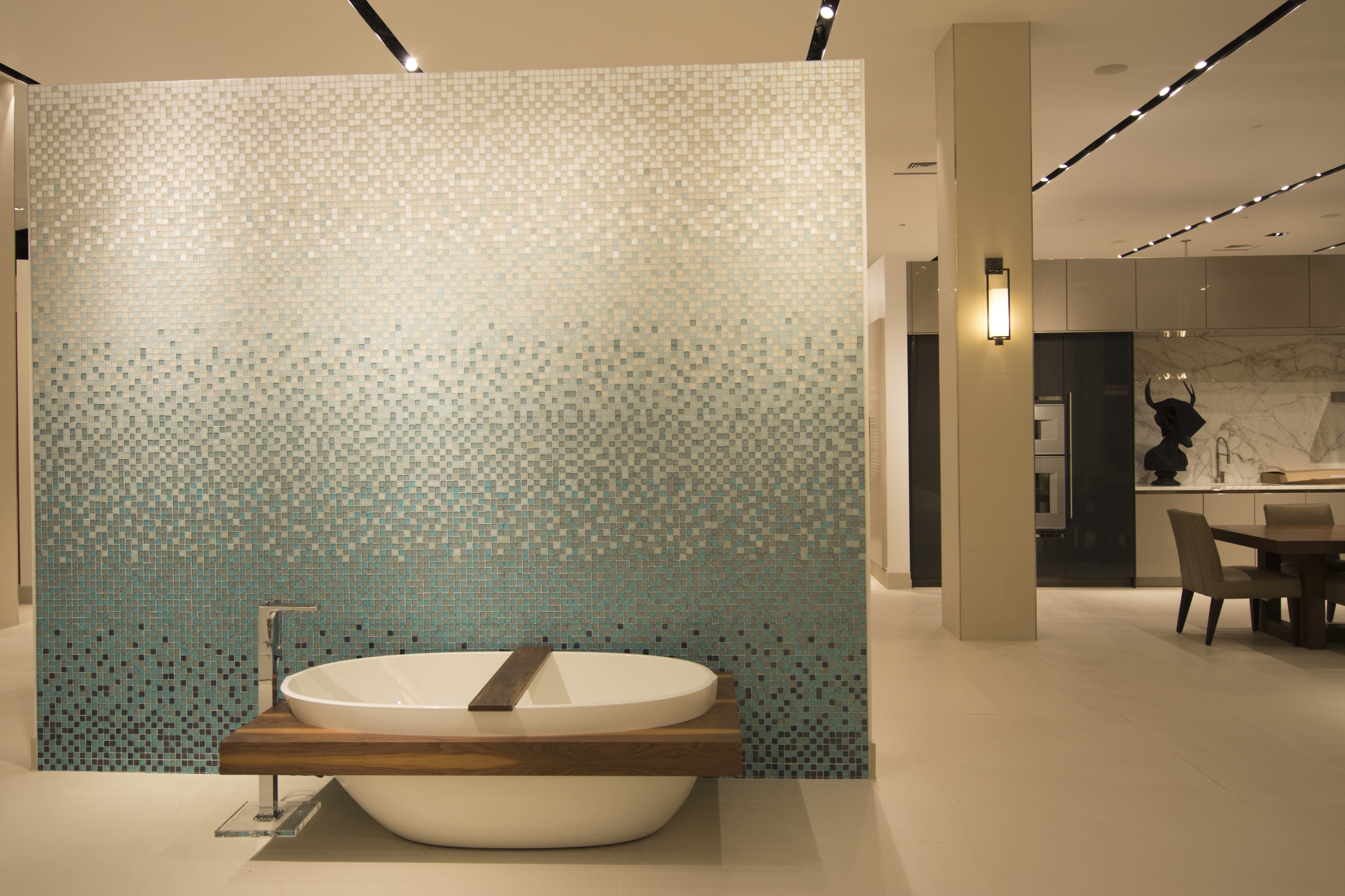 Bathroom display in pirch atlanta featuring a wetstyle for Pirch atlanta