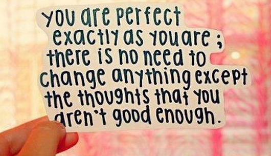 You are perfect! #quote #inspiration #healthyhappyandhip