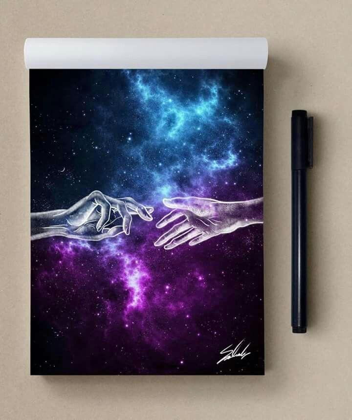 Art Painting Galaxy Cool Ideas