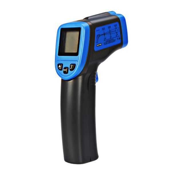 ST600 -32-600℃ Non-Contact Laser LCD Display Digital IR Infrared ...