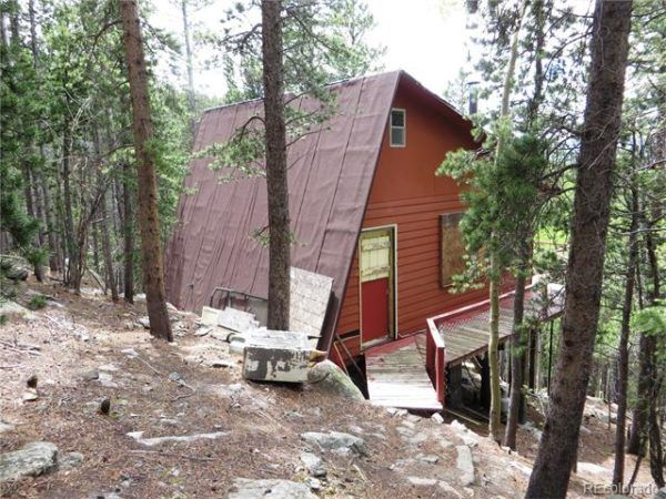 1960u0027s Tiny Cabin On 2 Acres In Idaho Springs, Colorado For Sale    560