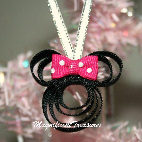 AMinnie ratón cinta Navidad adorno decorar tu árbol este año con el ...