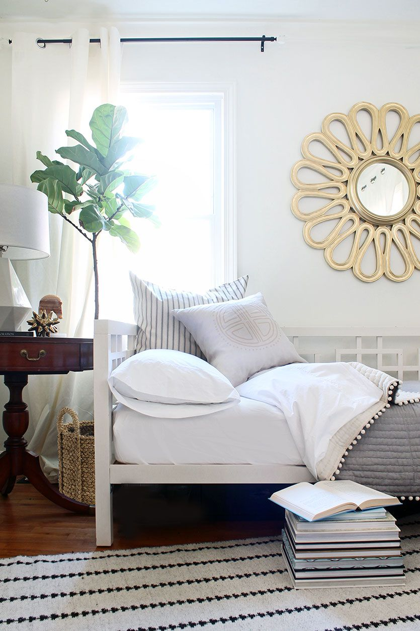 Combine a Guest Bedroom and Home Office in Style | Bedrooms, Room ...
