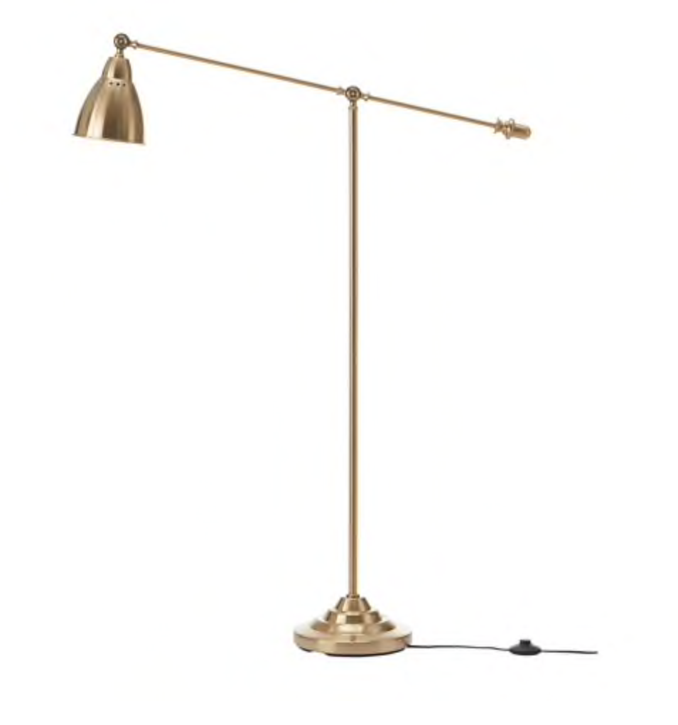 65 Gold Floor Lamp Ikea Lamps Dahlia