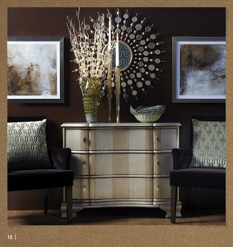 ZGallerie Love the wall color for the living room accent wall