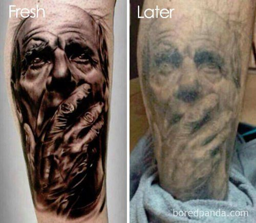 Tattoos Ever Wondered What Will It Look Like In 10 Years Or Even 40 Picture Tattoos Tattoos Get A Tattoo