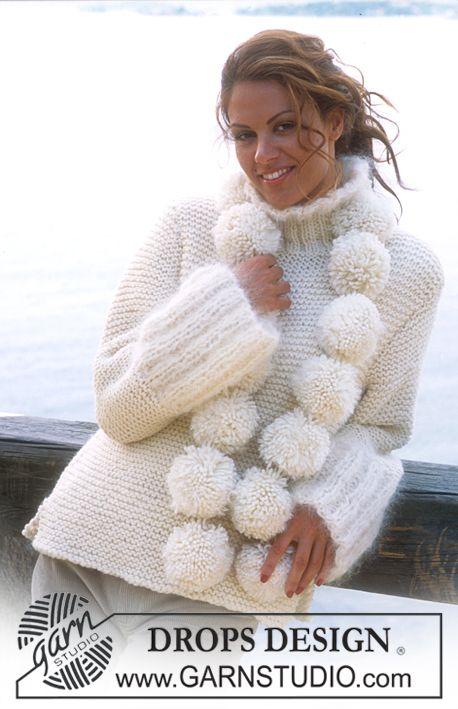 Jersey punto manta ancha | ropa de invierno | Pinterest | Puntadas ...