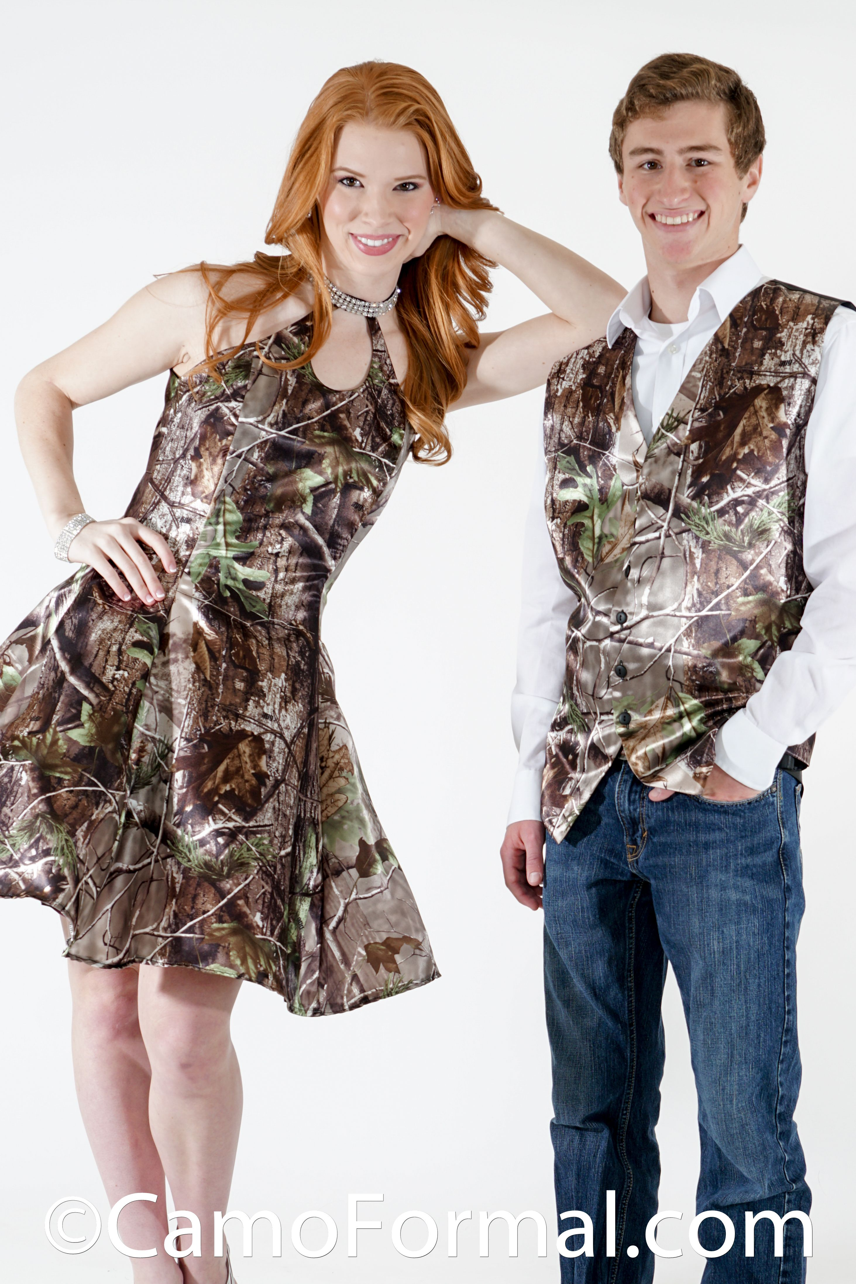 Camo vest for weddings and prom | Camo Formal Guys for Weddings and ...