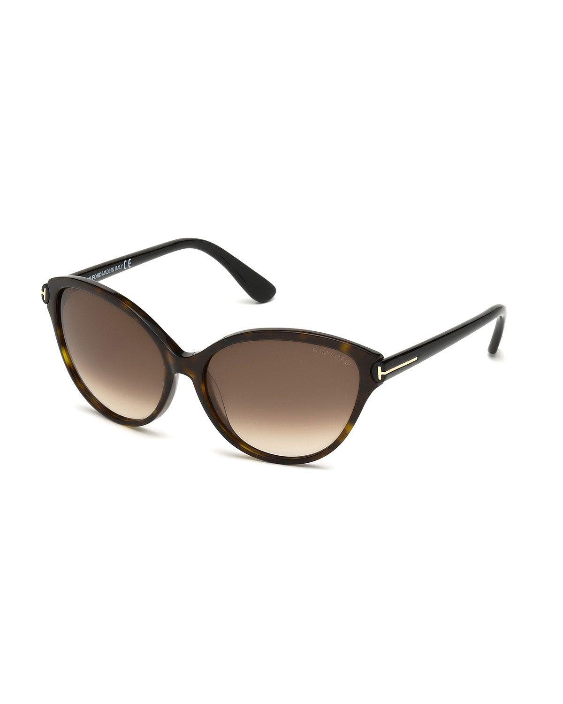 fa0c9bc70a TOM FORD Priscila Cat-Eye Sunglasses