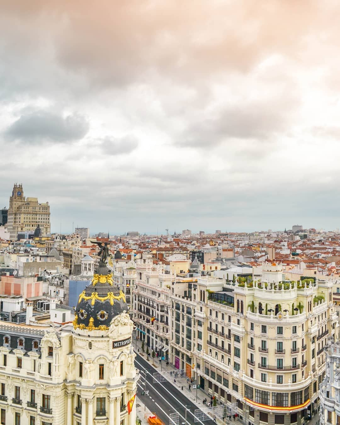 Madrid Spain Travelling Also Means To Us Appreciating Colours Patterns Beauty We Catched This Panoramic View In 2020 Visit Madrid Travel Spain Travel
