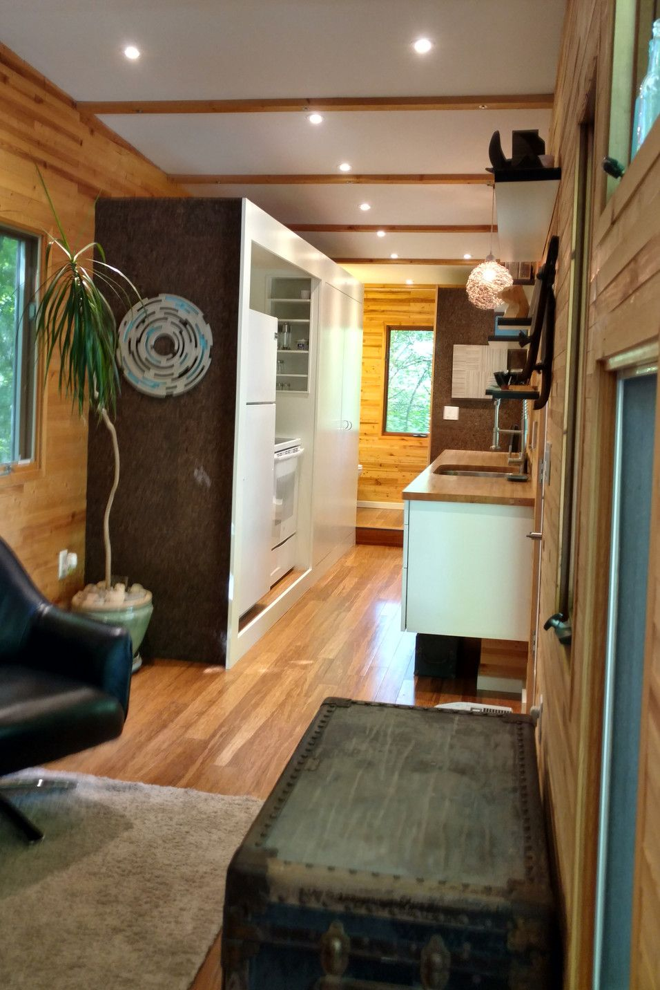 the tinyhaus a 320 sq ft modern tiny home currently available for rh pinterest co uk