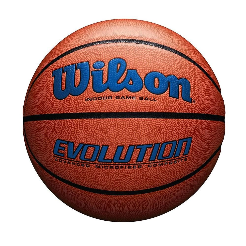 Wilson Evolution Indoor Game Basketball Unbranded Indoor Basketball Basketball Basketball Ball