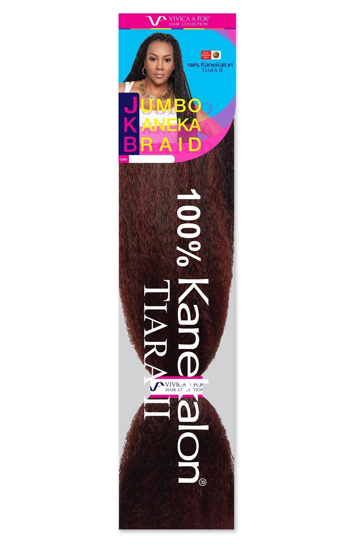 45 Jumbo Braid 100 Kanekalon Fiber Jkb V Crochet Braiding Hair By Vivica A Fox Kanekalon Braids Braided Hairstyles Jumbo Braids