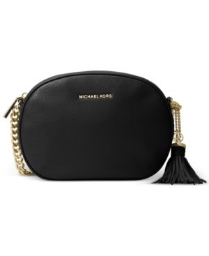 946652214a9b Michael Michael Kors Ginny Medium Messenger - Black