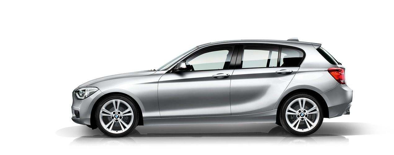 2013 Bmw 1 Series Hatchback Car Wallpaper Side View