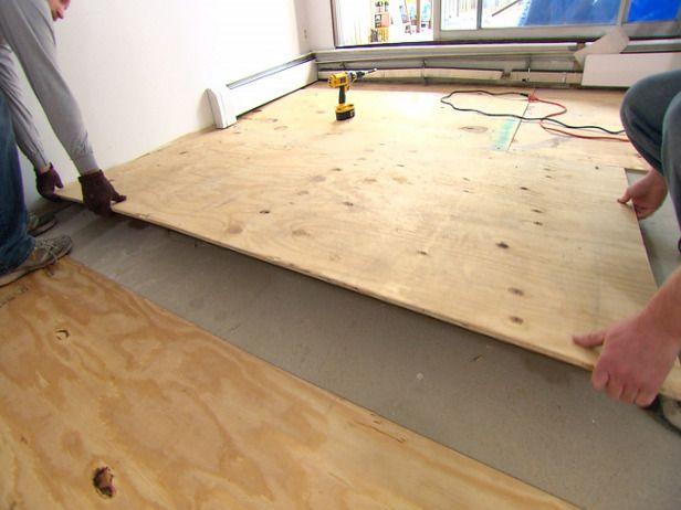 Plywood Plywood Flooring Plywood Flooring Diy Flooring