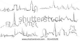 London 039 S Skyline Tattoo ShutterStock Abstract 92422711 Black And White Vector Illustration 83679088