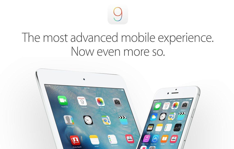 iOS 9 já se encontra disponível para download