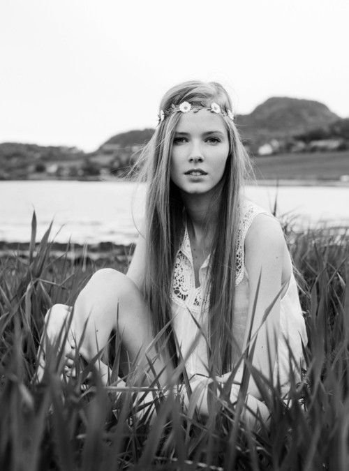hippie. Casual chic Photo femme, Portrait femme et