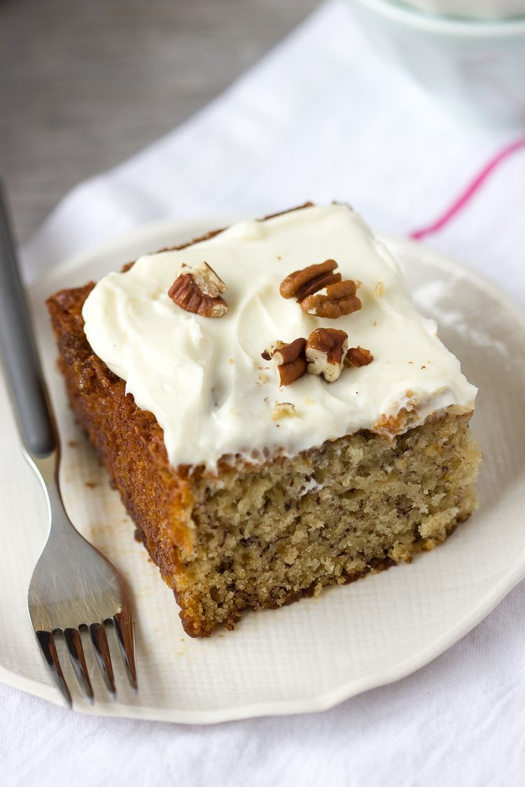 1 Teaspoon Kosher Salt 3 Large Very Ripe Bananas Or 4 Small 3 Eggs 1 2 Cup Buttermilk 3 4 Cup Canola Oil Banana Cake Recipe Easy Banana Nut Cake Banana Cake