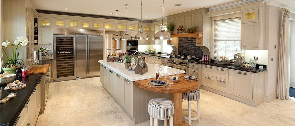 Wooden Heart of Weybridge: stunning kitchens for both residential clients  and property developers