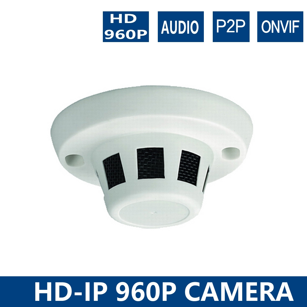 31.50$  Buy here  - YUNSYE 960P Smoke camera Onvif2.0 Indoor Plastic Dome IP Camera Designed for UR CCTV NVR with Plug and Play 1.3MP Smoke camera