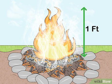 How To Make Colored Fire Fall Gender Reveal Party Campfire Types Fall Gender Reveal