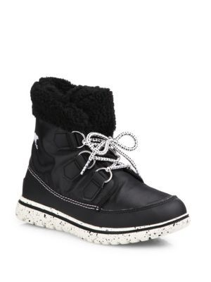 sorel Cozy Carnival Nylon and Fleece Boots Pq0EiUvb