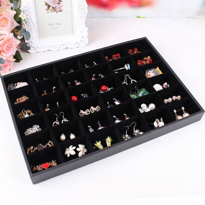 Jewelry set box cosmetics earrings organizer holder hair accessories
