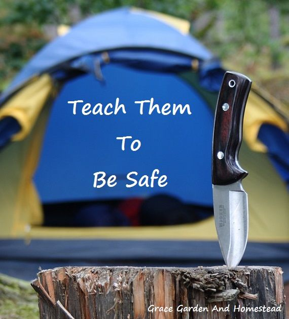 Kitchen Window Knife Skills Class: Knife Safety For Children On The Homestead