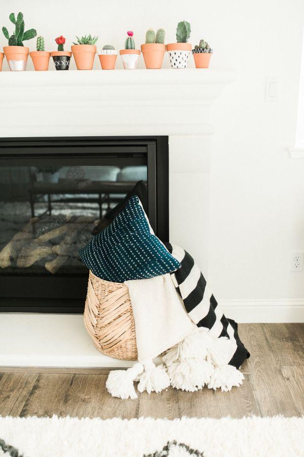 Boho Modern Living Room: Modern Bohemian California Home Tour In 2019