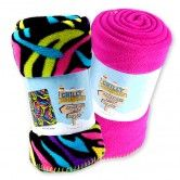 5 Fleece Blankets Super Duper Soft And Comfy Choose From A Variety Of Bright Colors Fun Patterns