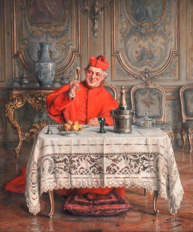 Paul Schaan Paul Schaan (1857-1924) —The Toast