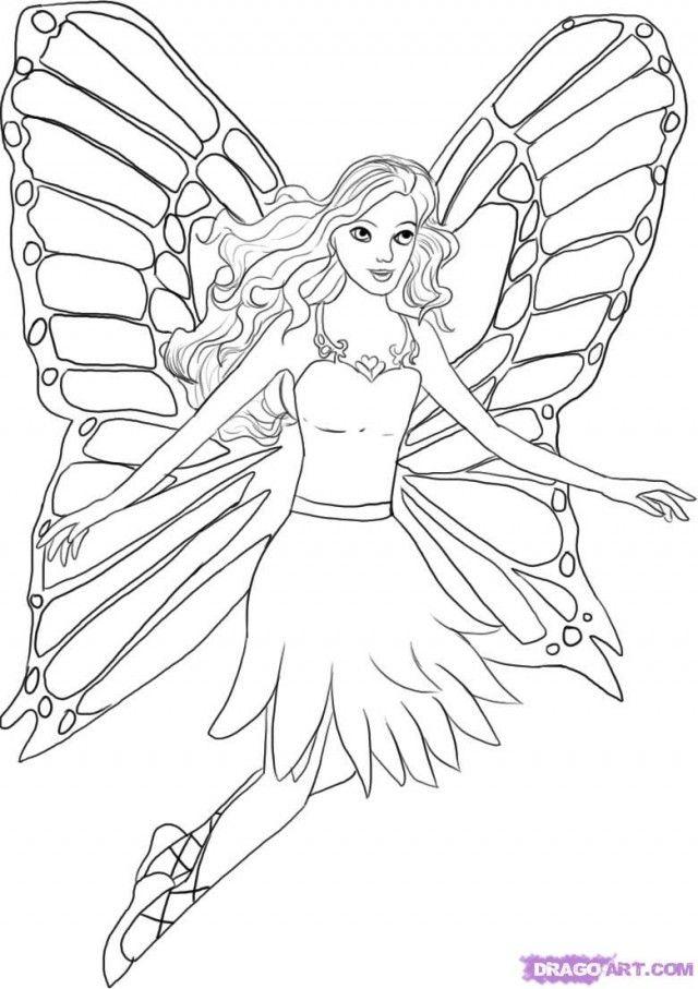 Mermaid Barbie Coloring Pages Barbie Mermaid Coloring Pages 148962 - copy coloring pages barbie mariposa