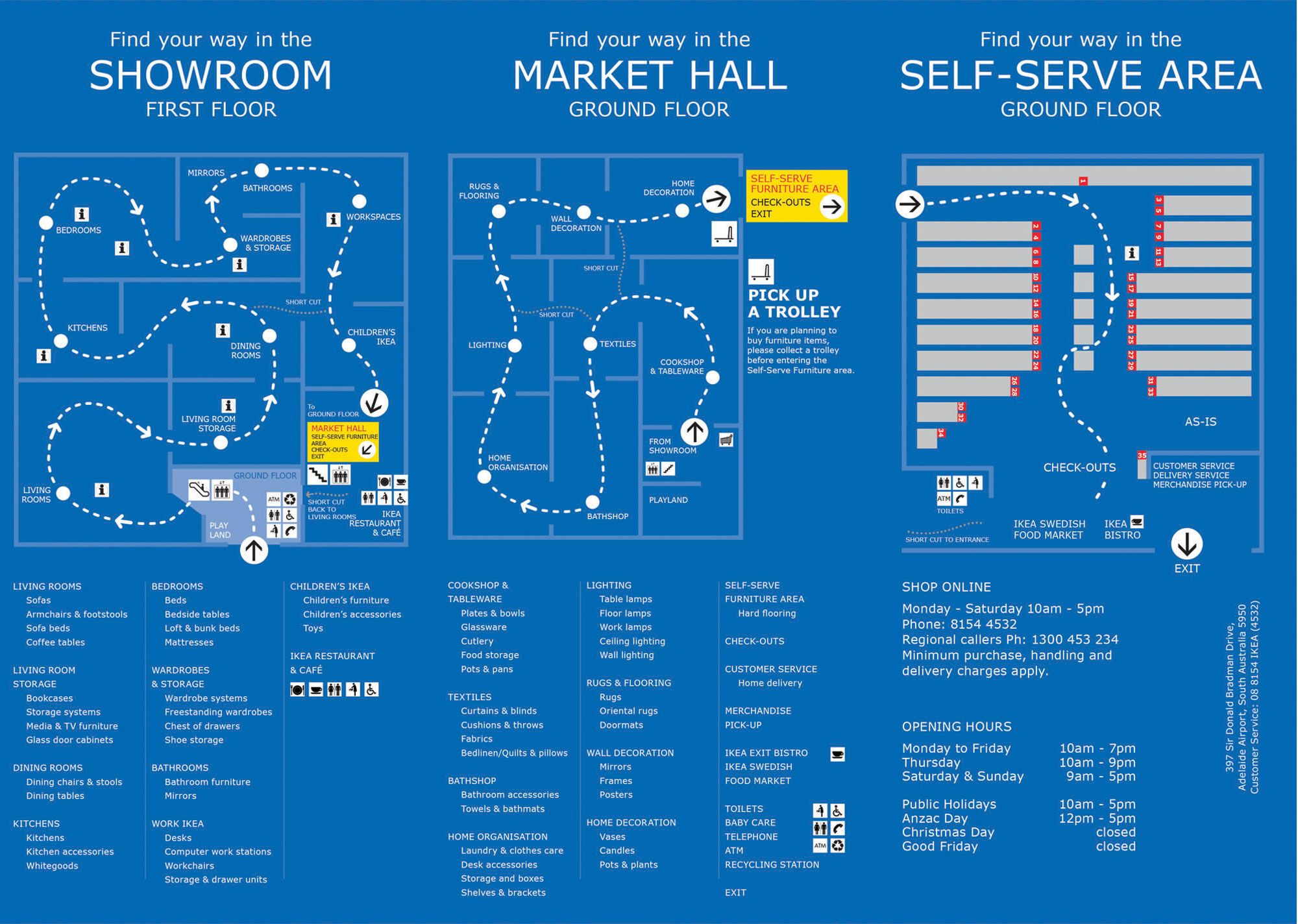 ikea 39 s visual map of their in store customer buying journey customer buying journey. Black Bedroom Furniture Sets. Home Design Ideas