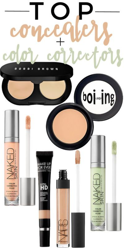 The Best Concealers + Color Correctors to Hide Flaws.