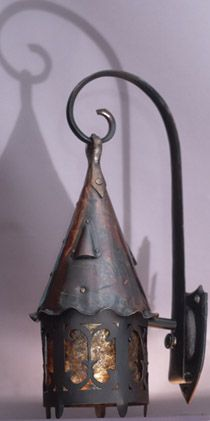 Sconce...I think this would be perfect for the hobbit house!