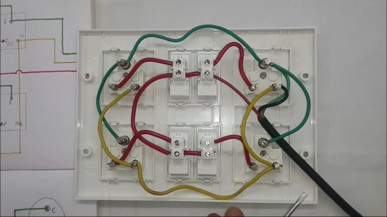 How To Make An Electric Extension Board Inner Wiring Connection In H Extension Board Electric Board Electricity