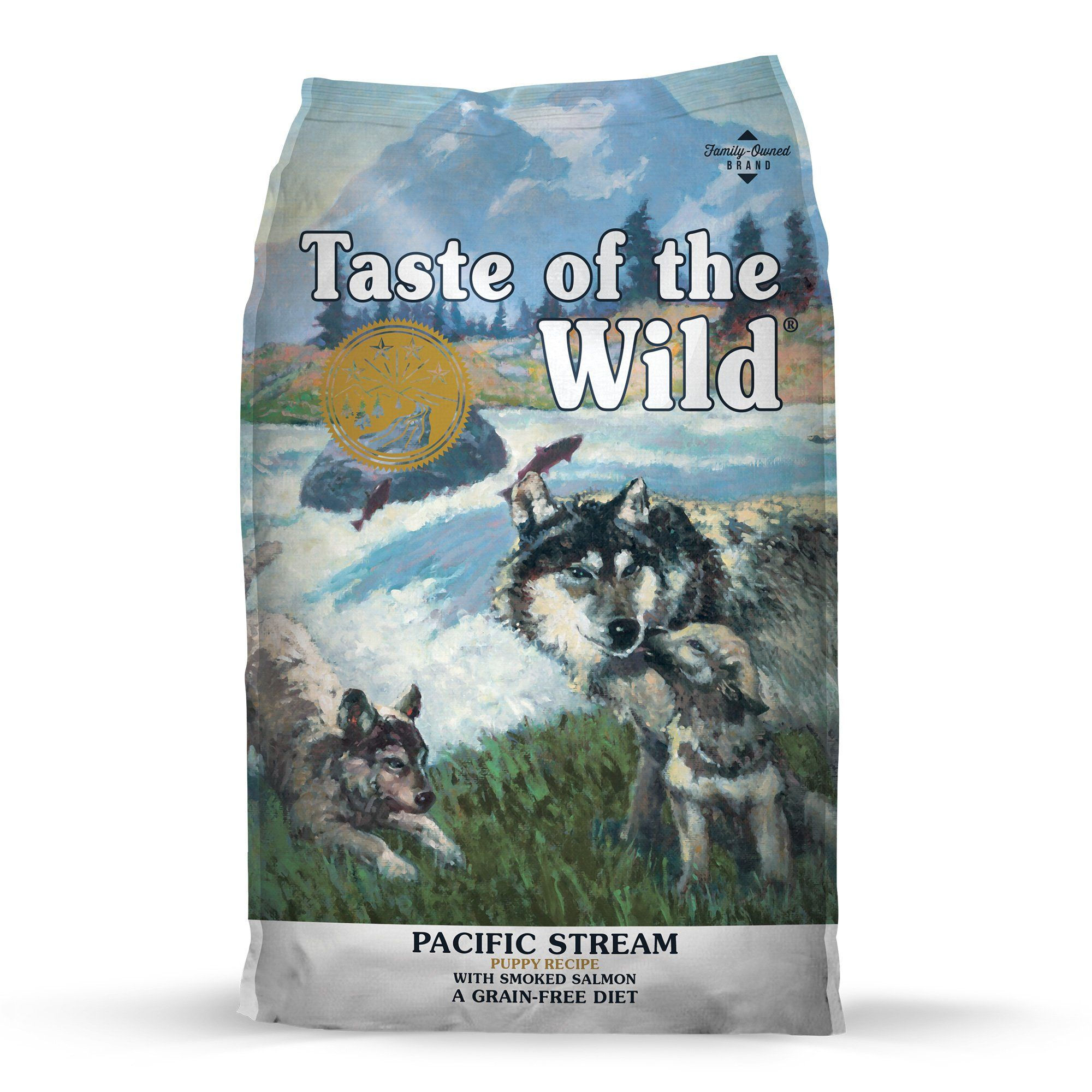 Taste Of The Wild Pacific Stream Grain Free Smoked Salmon Dry
