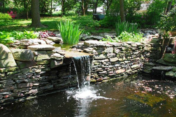 dekorativen teich im garten anlegen – zurück zur natur bewegung, Gartenarbeit