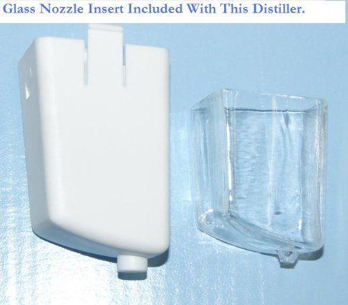 Water Distiller Countertop White Enamel Glass Collection